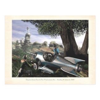 Empire State Patrol Concept Art Postcard