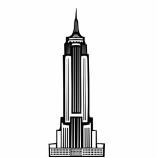EMPIRE STATE STANDING PHOTO SCULPTURE