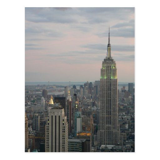 Empire State Twilight Postcard