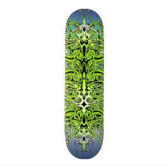 Empire Tribal Tattoo skateboard - green