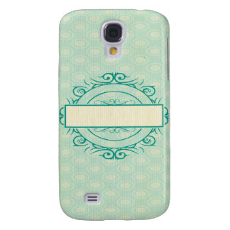 emplate,vintage,mint,shabby,chic,floral,customize, galaxy s4 case