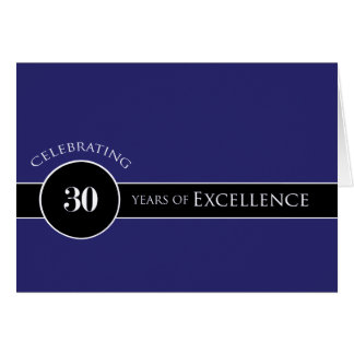 Employee 30th Anniversary Circle of Excellence Greeting Card