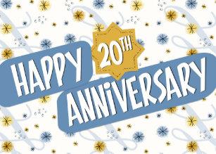 20 years employee anniversary gifts gift ideas zazzle uk