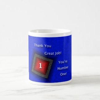 Employee Appreciation Thank You Great Job Coffee Mug