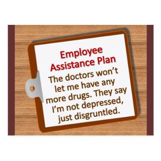 Employee Assistance Plan Postcard