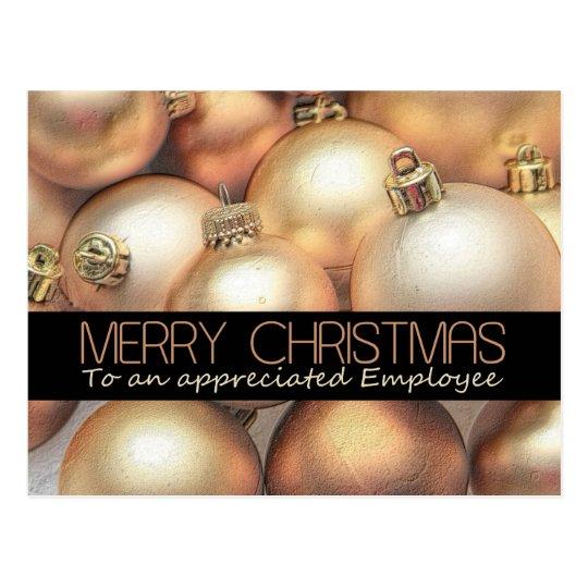 Employee Merry Christmas card