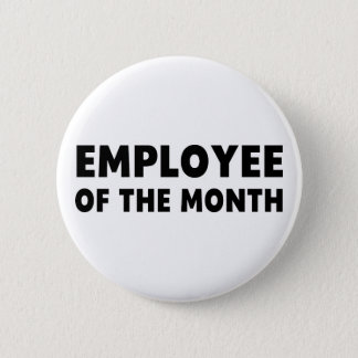 Employee Month 6 Cm Round Badge