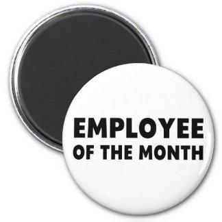 Employee Month 6 Cm Round Magnet