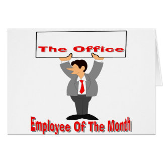 Employee Of The Month Card