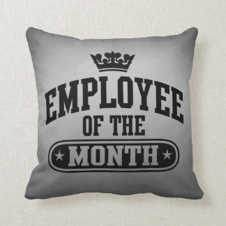 Employee Of The Month Cushion