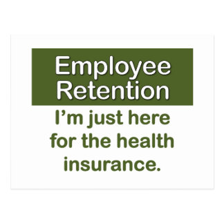 Employee Retention Postcard