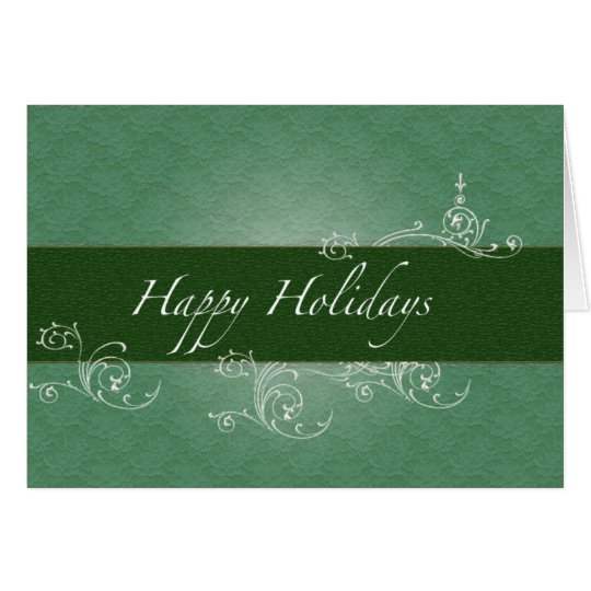 Employer to Employee Happy Holidays Card