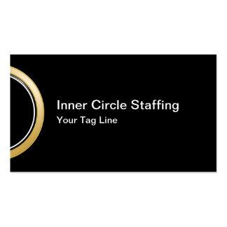Employment Staffing Business Card