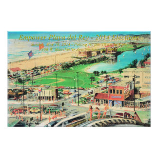 Empower Playa del Rey – 2014 No Border Poster