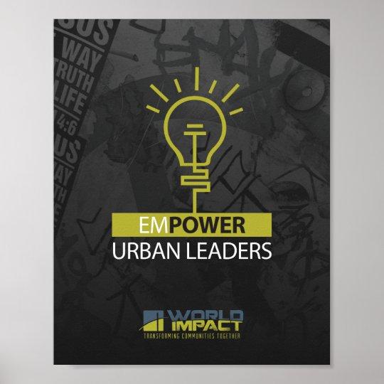 Empower Urban Leader Poster