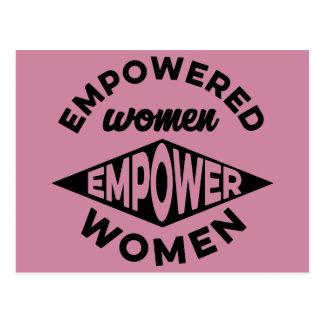 Empowered Women Empower Women Postcard