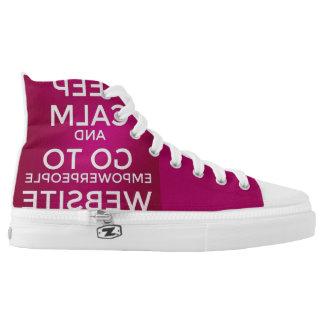 Empowering Hightop Sneakers