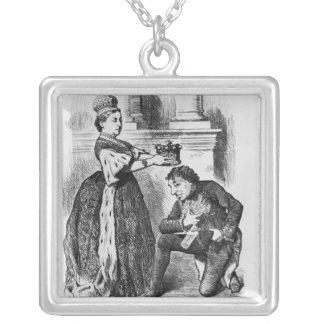 Empress and Earl Silver Plated Necklace