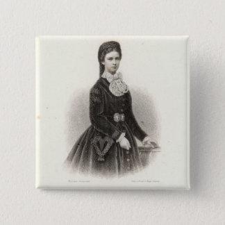 Empress Elisabeth of Austria 15 Cm Square Badge