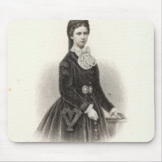 Empress Elisabeth of Austria Mouse Pad