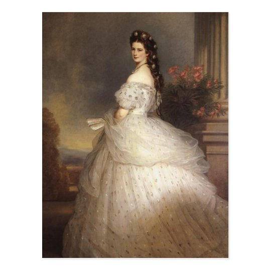 Empress Elisabeth - Sisi - Franz Xaver Winterhalte