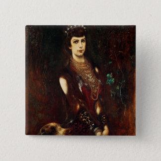 Empress Elizabeth of Austria, 1883 15 Cm Square Badge