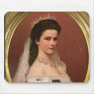 Empress Elizabeth of Bavaria  in Hungarian Mouse Pad