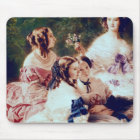 Empress Eugenie  and her Ladies in Waiting Mouse Mat