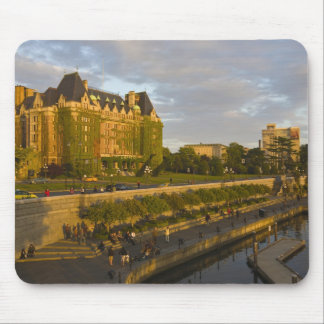 Empress Hotel and Inner Harbour waterfront, Mouse Pad