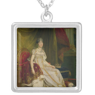 Empress Josephine  1808 Silver Plated Necklace
