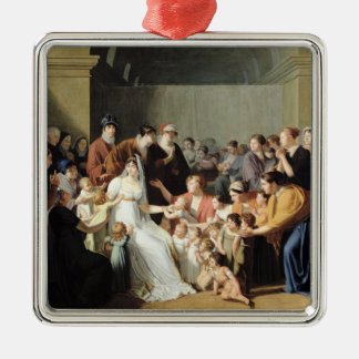 Empress Josephine  Among the Children, 1806 Christmas Ornament