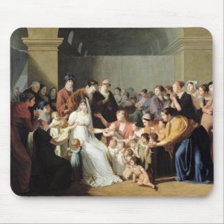 Empress Josephine  Among the Children, 1806 Mouse Pad