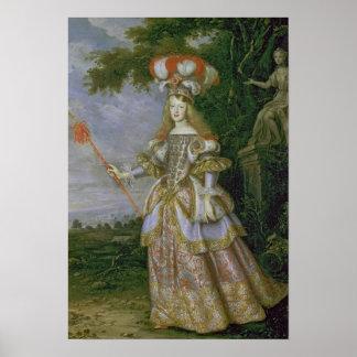 Empress Margaret Theresa Poster