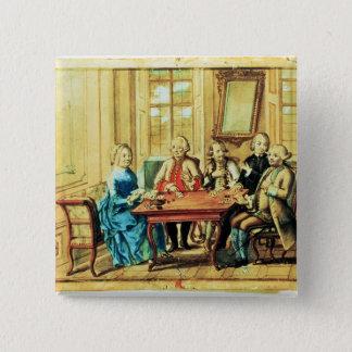 Empress Maria Teresa of Austria 15 Cm Square Badge