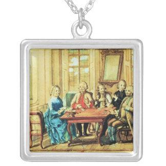 Empress Maria Teresa of Austria Silver Plated Necklace