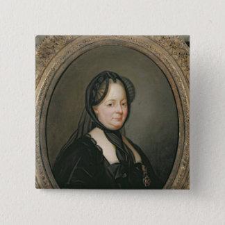 Empress Maria Theresa  of Austria 15 Cm Square Badge