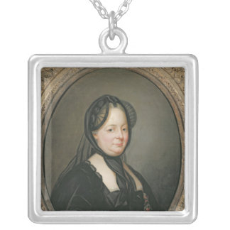 Empress Maria Theresa  of Austria Silver Plated Necklace