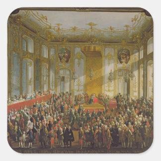 Empress Maria Theresa Square Sticker