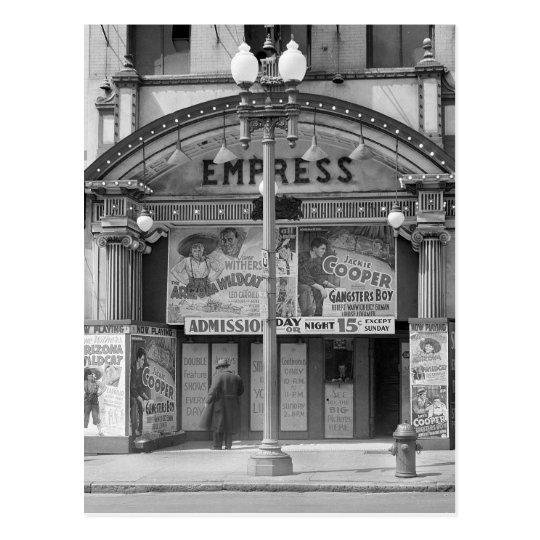 Empress Movie Theatre, 1939 Postcard