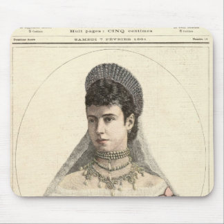 Empress of Russia Mouse Pad