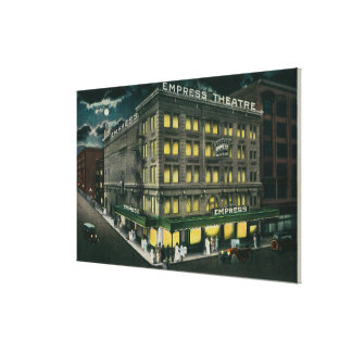Empress Theatre in Portland, Oregon Canvas Print