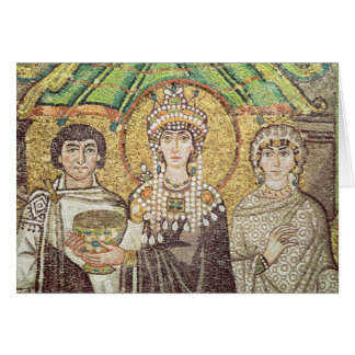 Empress Theodora Greeting Card