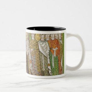 Empress Theodora Two-Tone Coffee Mug