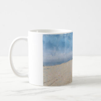 Empty beach in Virginia. Coffee Mug
