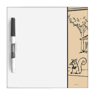 Empty Bird Feeder Dry Erase Board