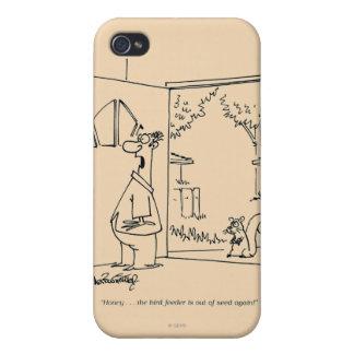 Empty Bird Feeder iPhone 4 Case
