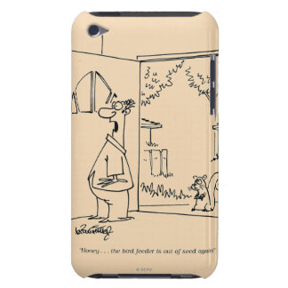 Empty Bird Feeder iPod Case-Mate Case