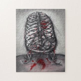 skeleton jigsaw puzzles | zazzle.co.uk, Skeleton
