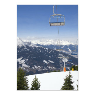 Empty Chair Lift Card