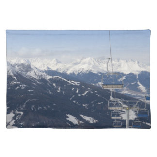 Empty Chair Lift Placemat